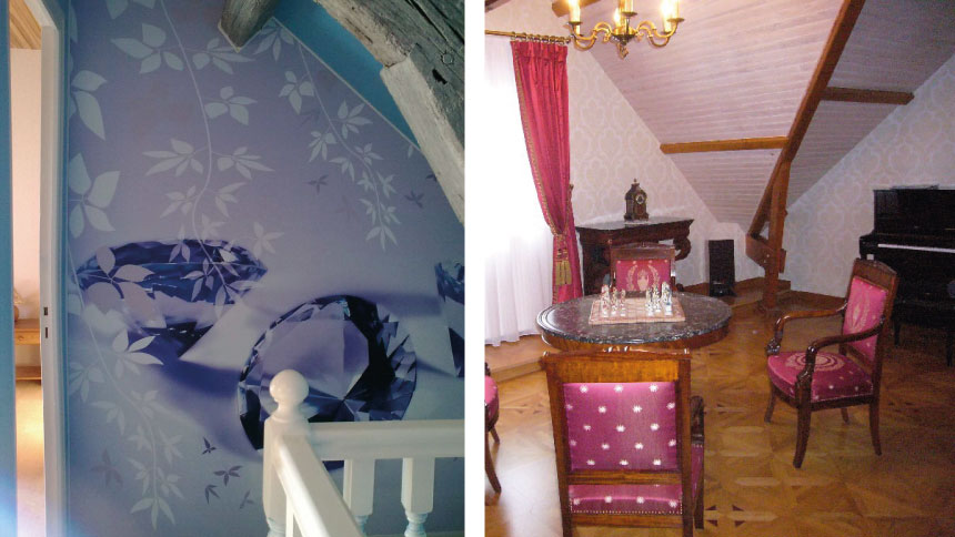 Décoration de murs avec papier peinte ou toute autre image et photo de votre choix avec décorator sur Orléans